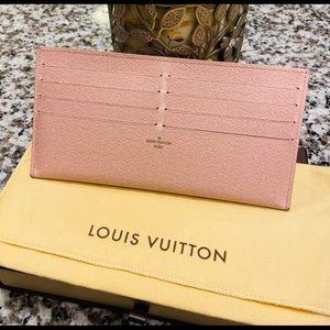 Louis Vuitton Felicie Insert Cardholder rose balle